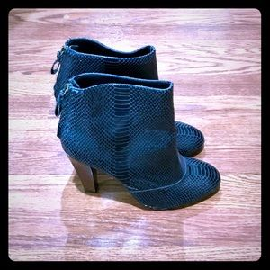 """Seven for all mankind 3.75"""" heeled boot. Size 10"""